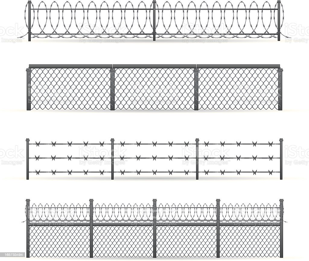 Prison Fence Graphic prison fence clip art, vector images & illustrations - istock