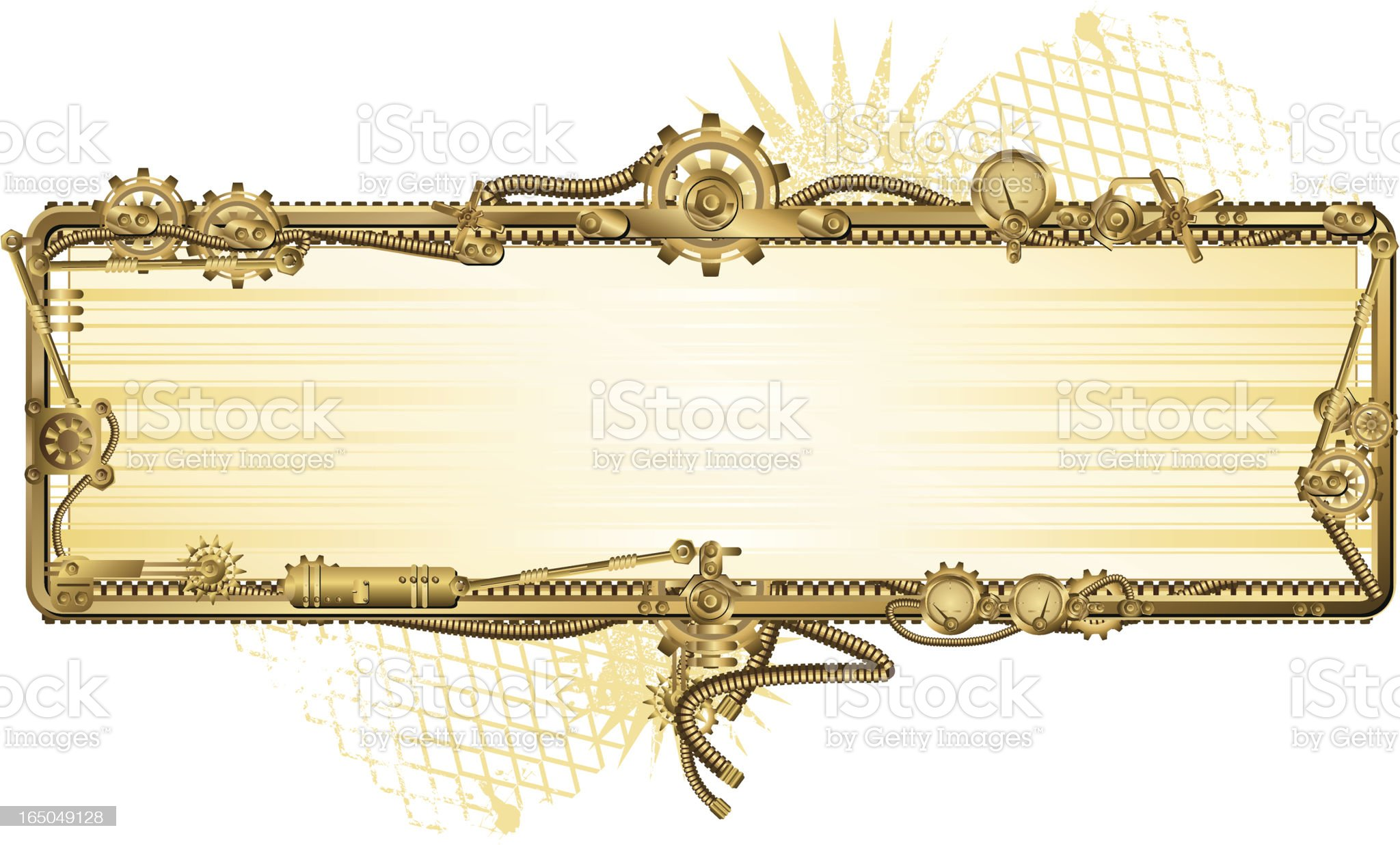 Industrial frame royalty-free stock vector art