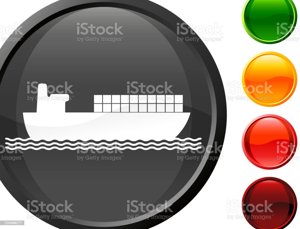 industrial ship with freight containers internet royalty free vector art royalty-free stock vector art