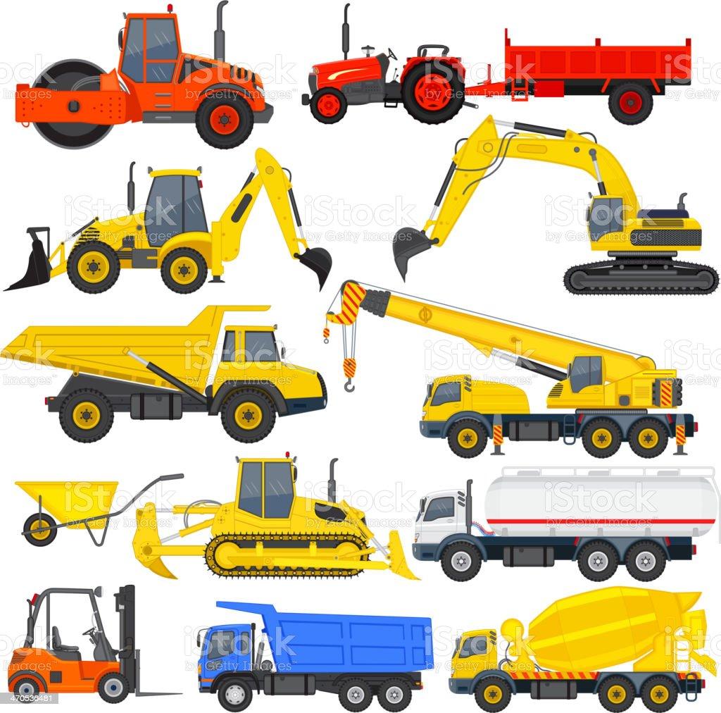 Industrial Transportation royalty-free stock vector art