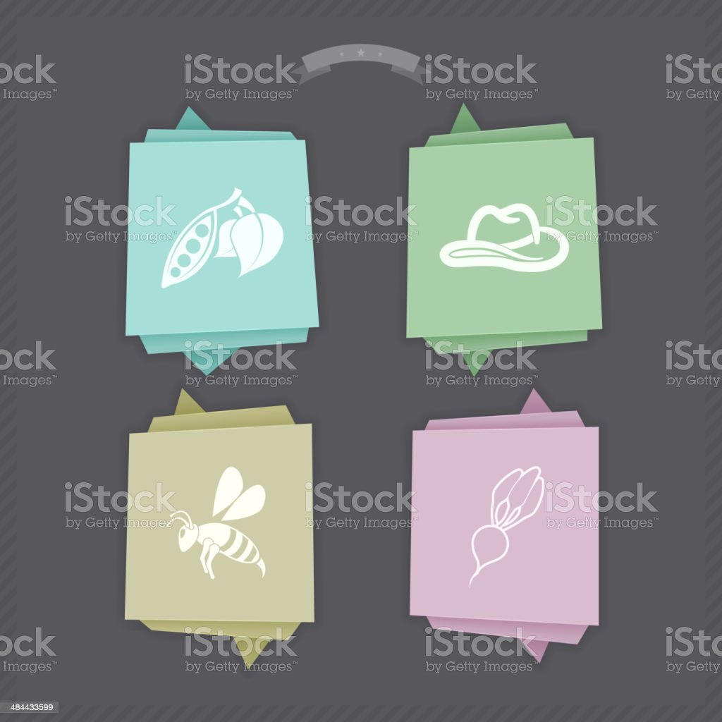 Industry Icons - Agriculture royalty-free stock vector art
