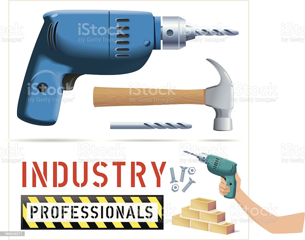 Industry Professionals royalty-free stock vector art