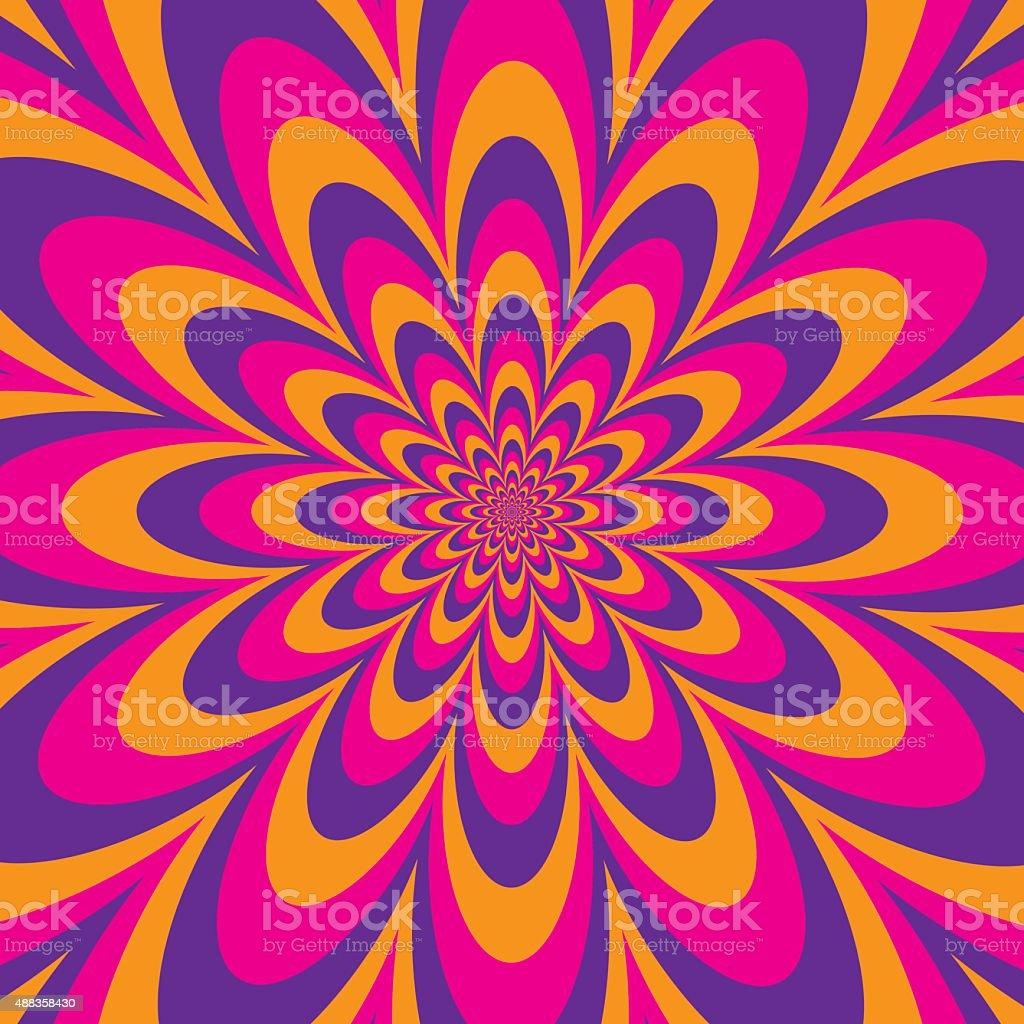 Infinite Flower vector art illustration