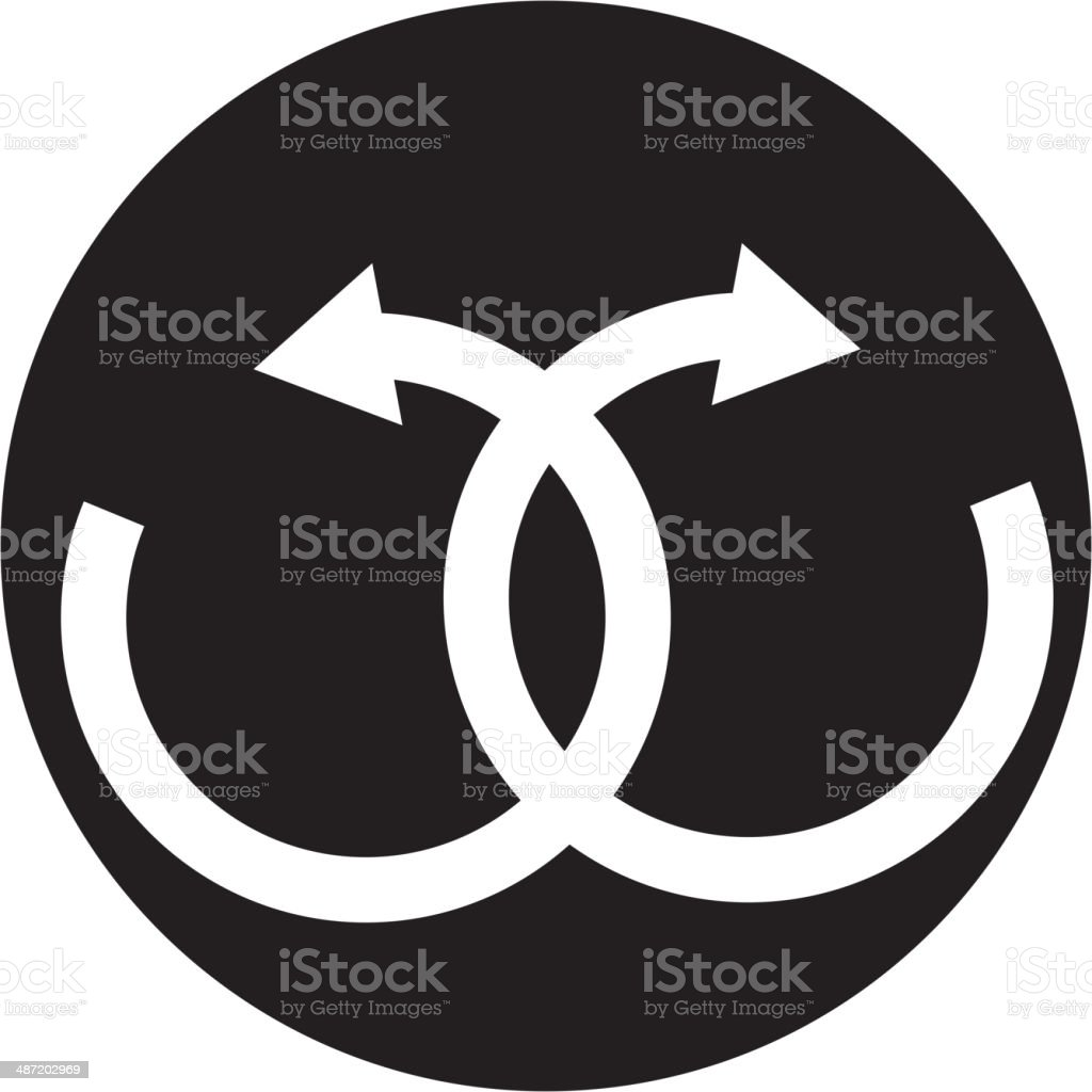 infinity sign royalty-free stock vector art