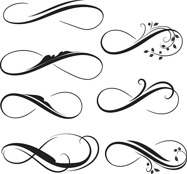 Background Of The Symbols For Eternal Love Clip Art Vector Images