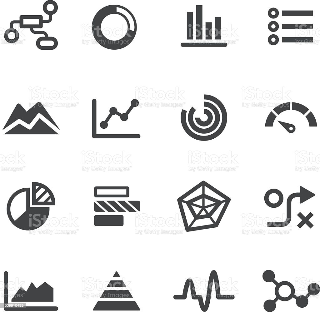 Info Graphic Icons - Acme Series vector art illustration