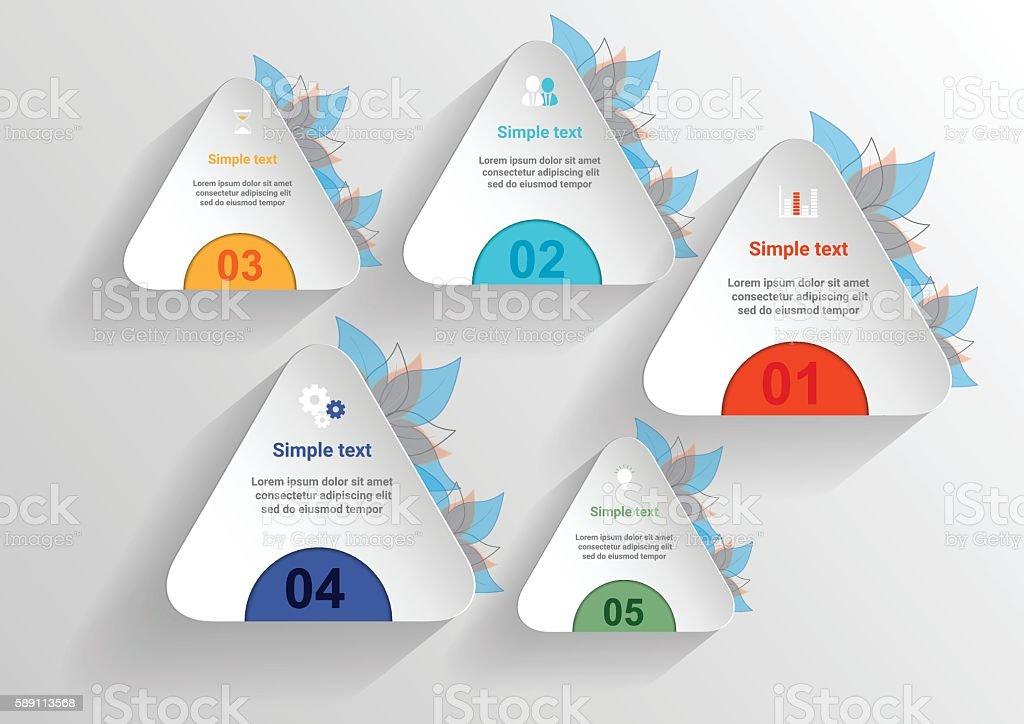 Infografik Banner Vorlagen Für Business Vektordesignelement Vektor ...