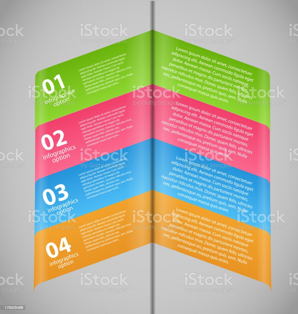 Infographic business template vector illustration royalty-free stock vector art