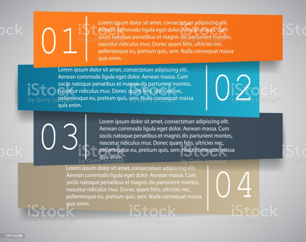 Infographic business template vector illustration. royalty-free stock vector art