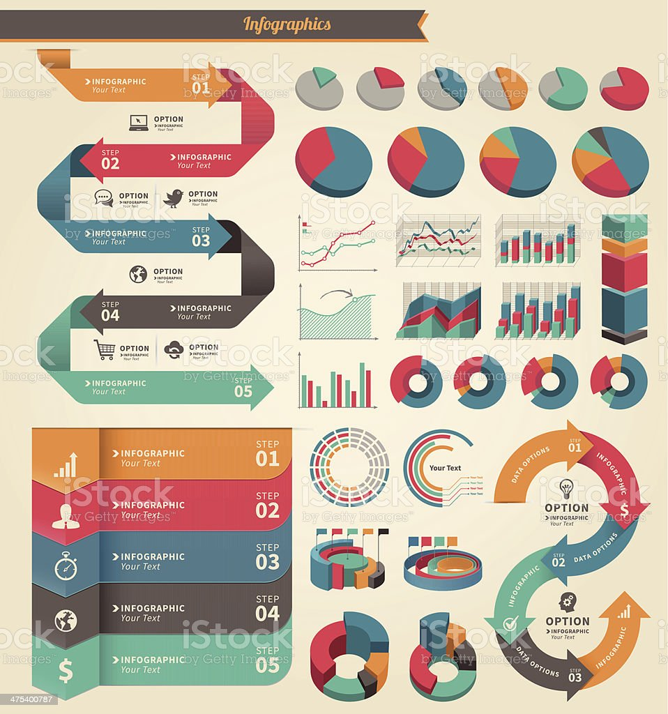Infographic Concept Element royalty-free stock vector art