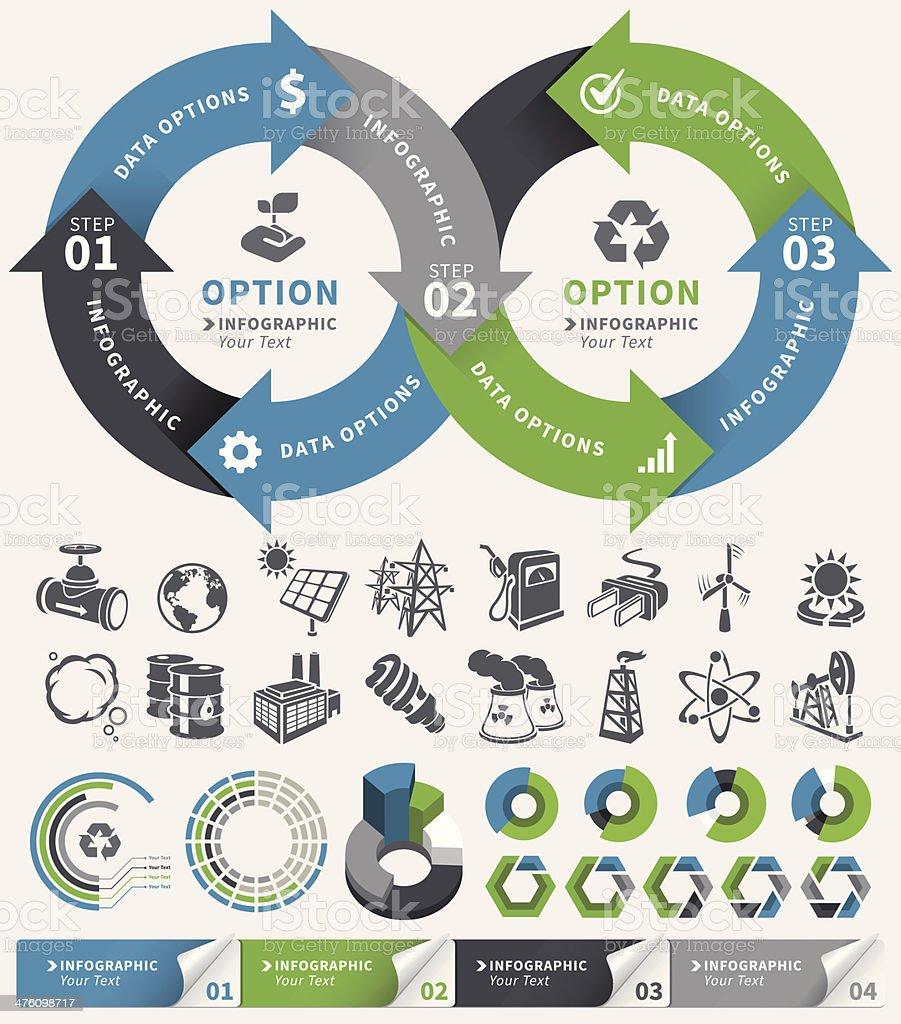 Infographic Concept Element vector art illustration