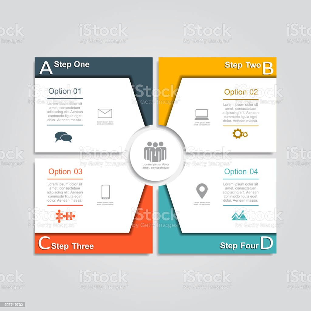 Infographic design template. Vector illustration royalty-free stock vector art
