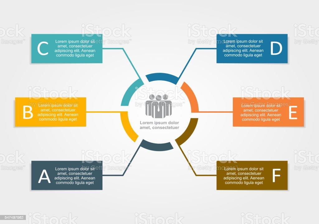 Infographic design template. Vector illustration. vector art illustration