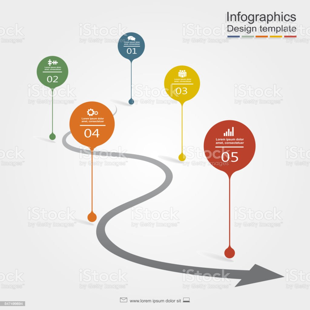Infographic design template. Vector illustration. royalty-free stock vector art