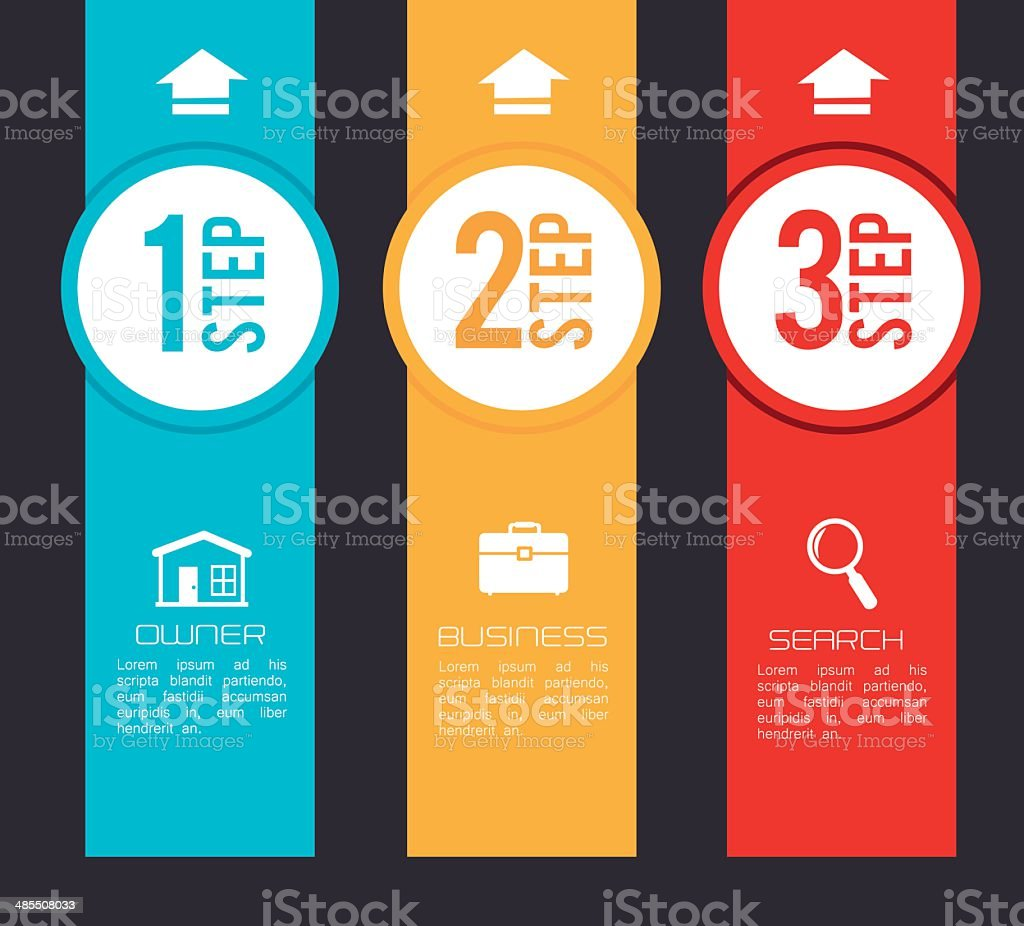 Infographic design royalty-free stock vector art