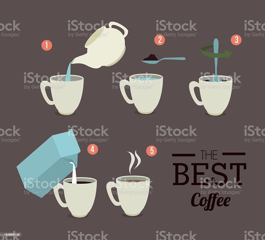 Infographic design, vector illustration. vector art illustration