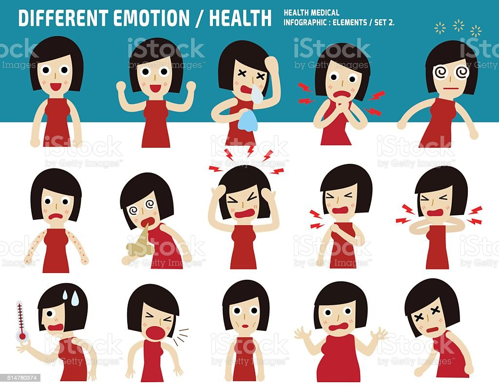 infographic, elements, icons, health care, character vector art illustration