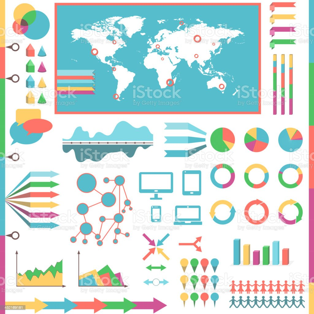 Infographic elements royalty-free stock vector art