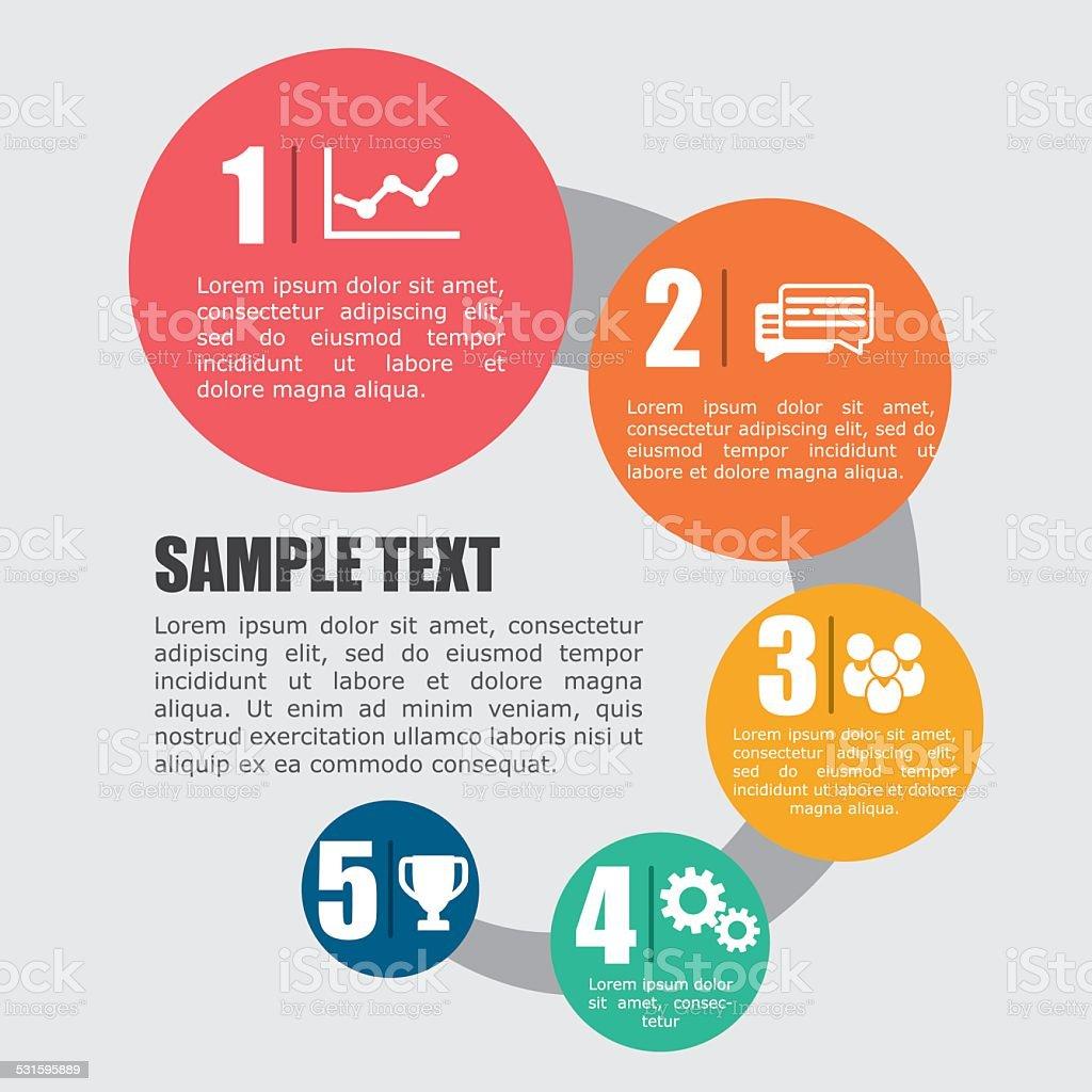 infographic icon design vector illustration eps 0 graphic vector art illustration