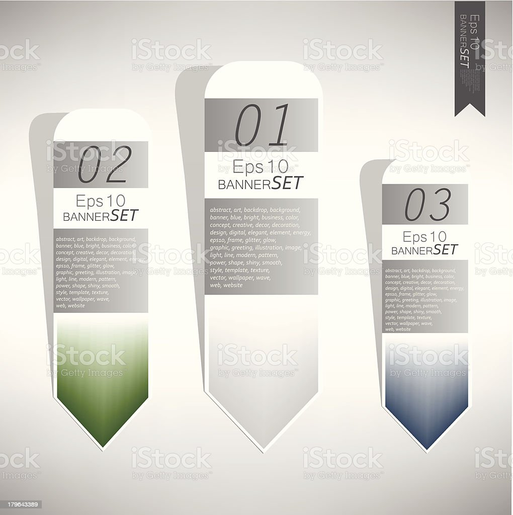 infographic set royalty-free stock vector art