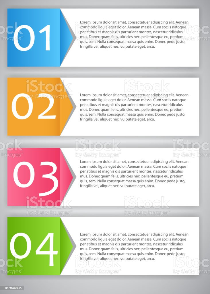 Infographic template business vector illustration vector art illustration