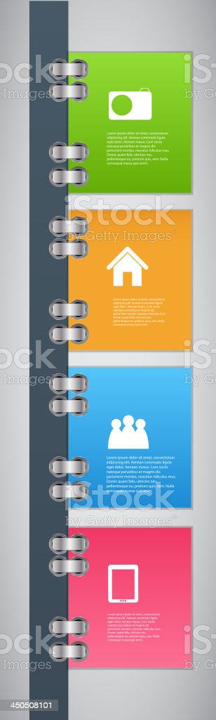 Infographic template design vector illustration royalty-free stock vector art