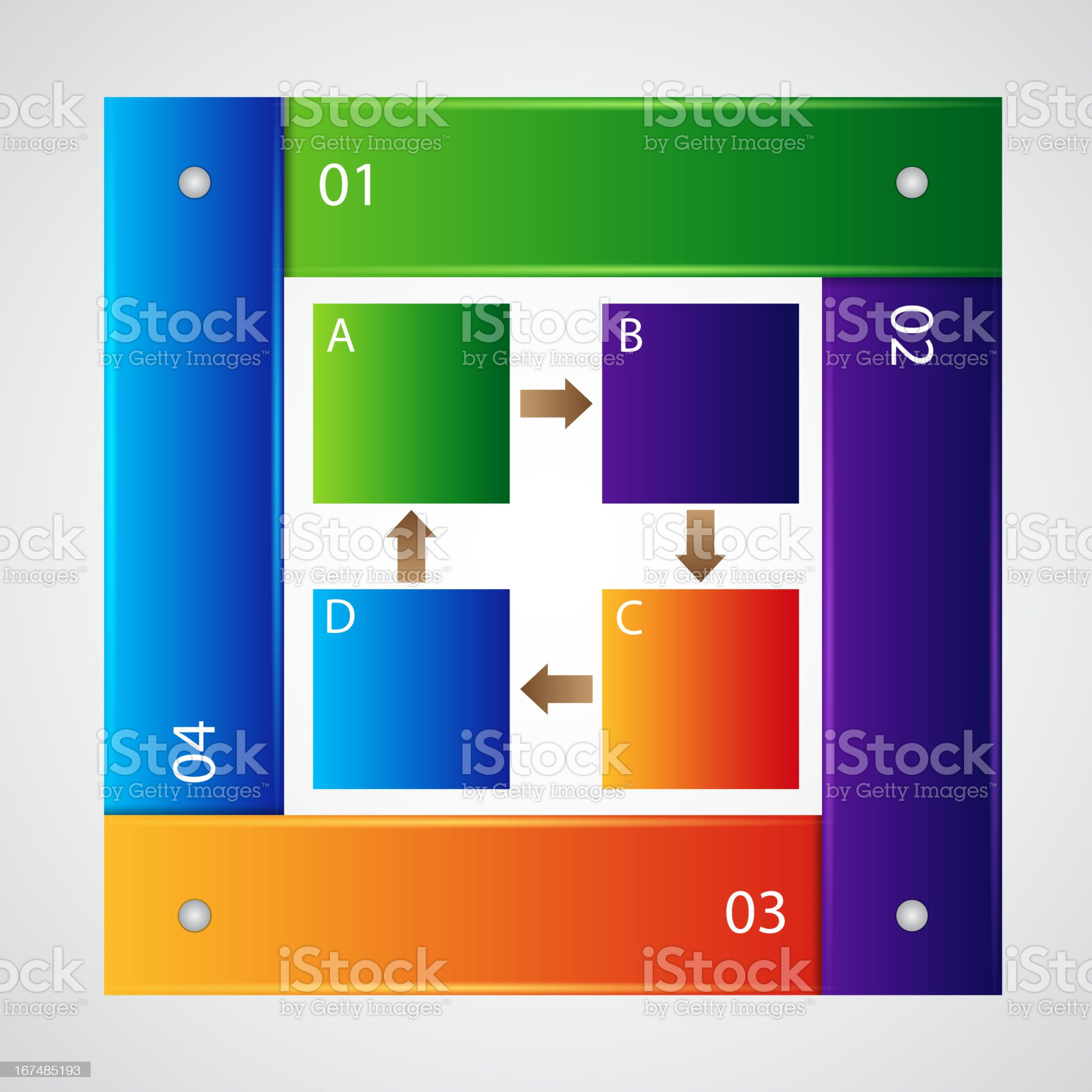 Infographic template royalty-free stock vector art