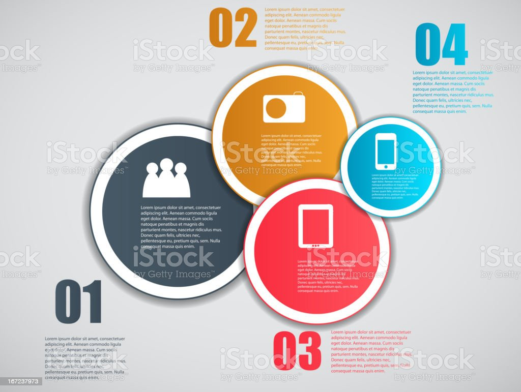 Infographic template vector illustration royalty-free stock vector art