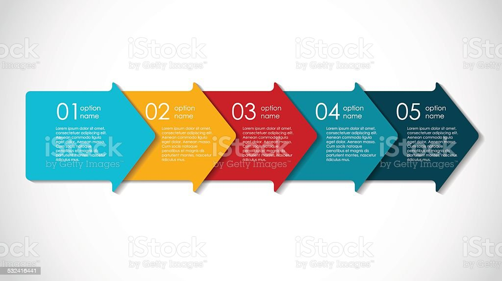 Infographic Templates for Business Vector Illustration. royalty-free stock vector art