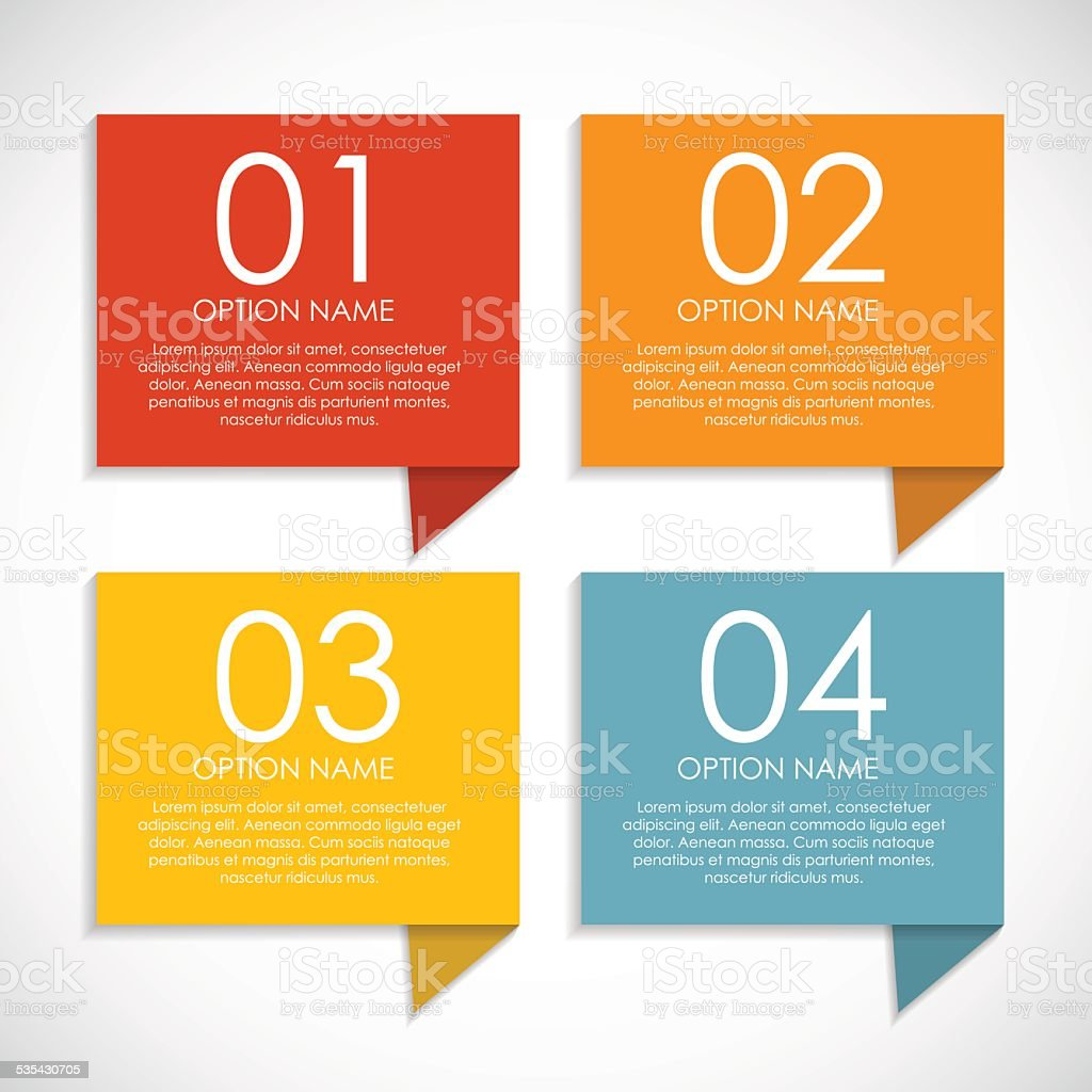 Infographic Templates for Business Vector Illustration vector art illustration