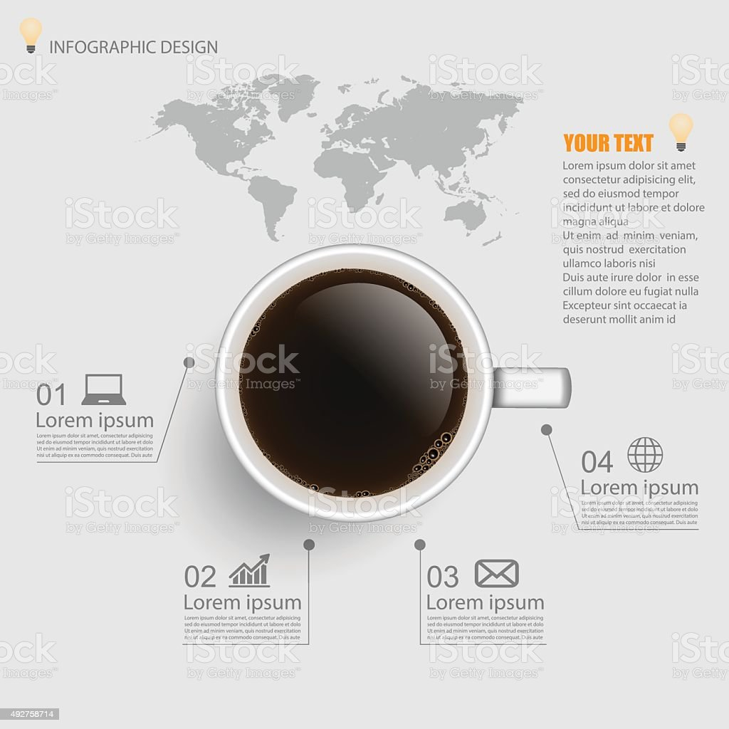infographic,coffee,vector vector art illustration
