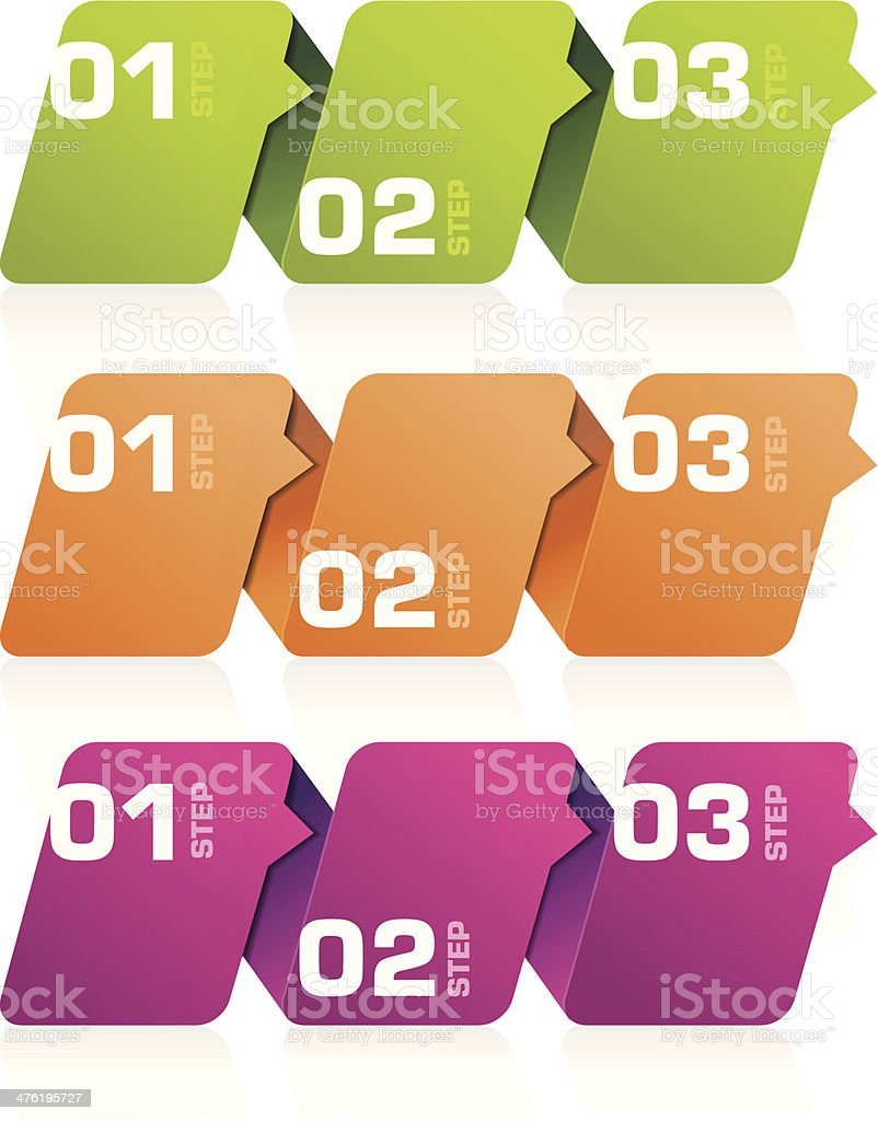 Infographics Banners royalty-free stock vector art