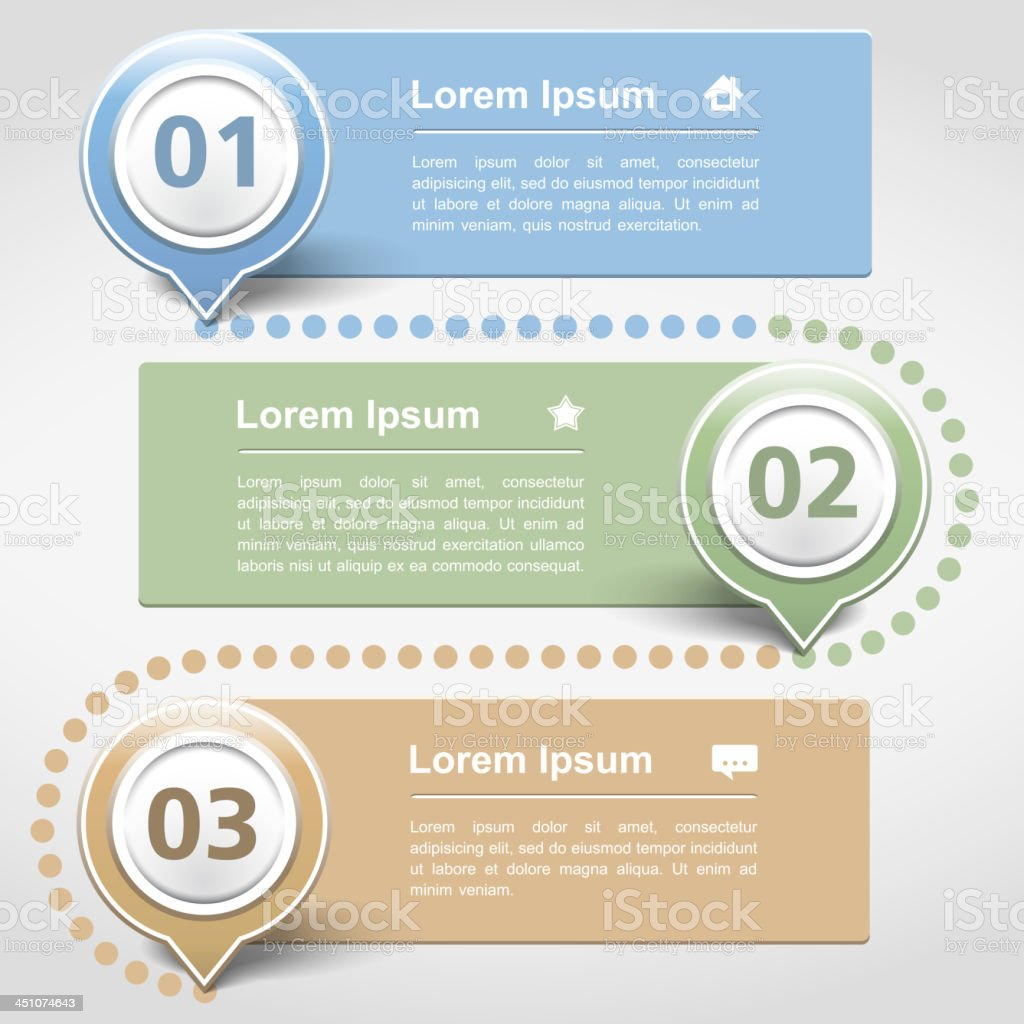 Infographics Design Template royalty-free stock vector art