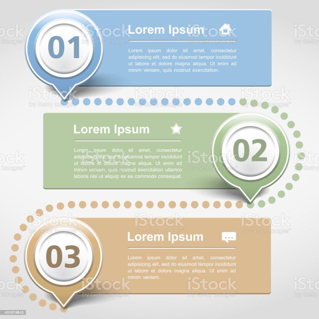 Infographics Design Template vector art illustration
