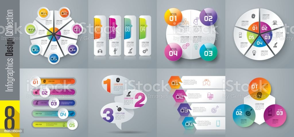 Infographics design vector and business icons. royalty-free stock vector art