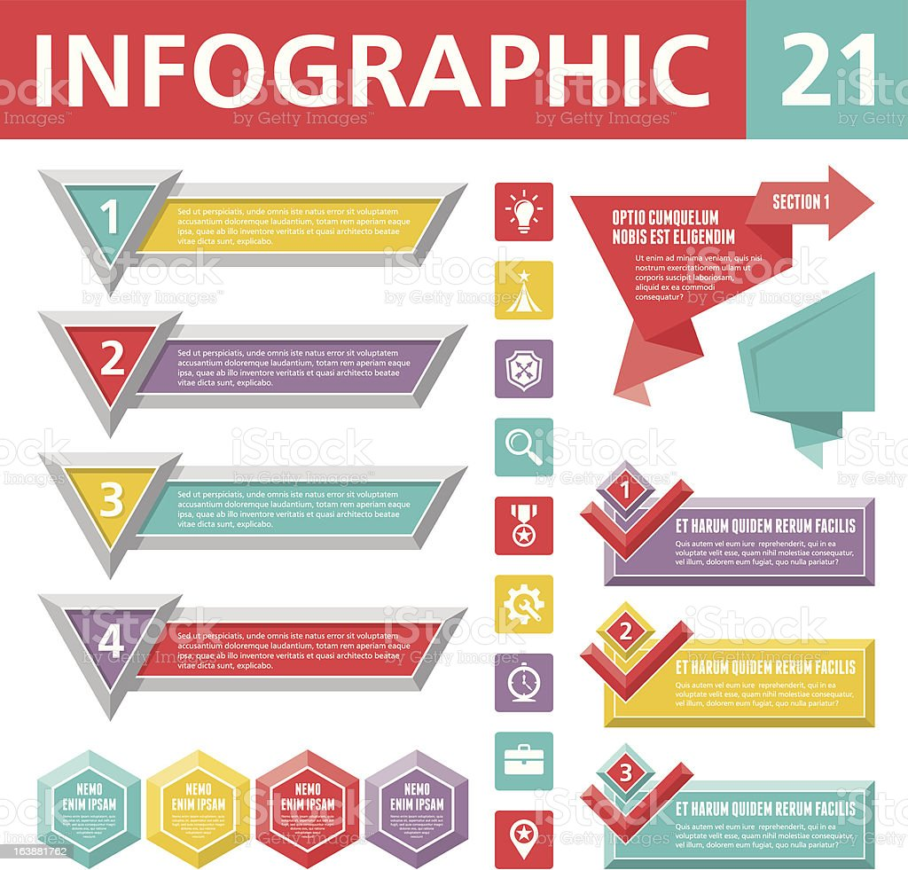Infographics Elements 21 royalty-free stock vector art