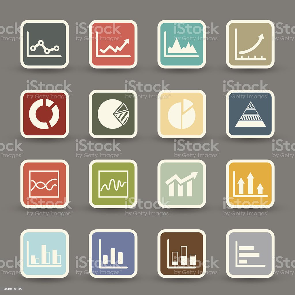 infographics icons .vector eps10 royalty-free stock vector art
