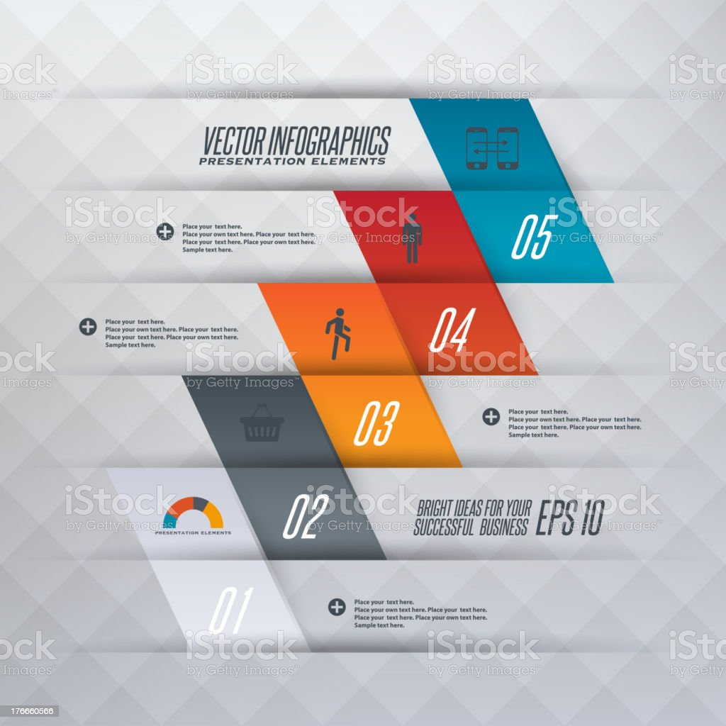 Infographics illustration royalty-free stock vector art