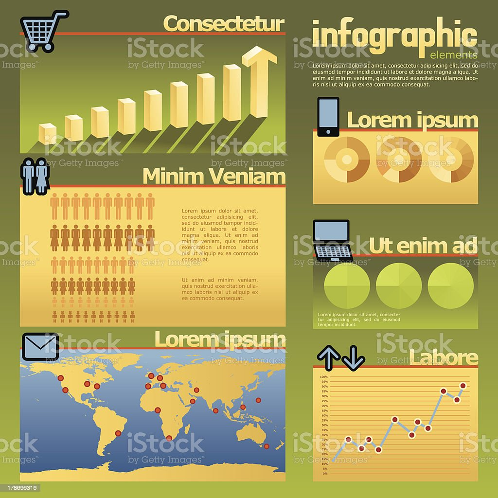 Infographics royalty-free stock vector art