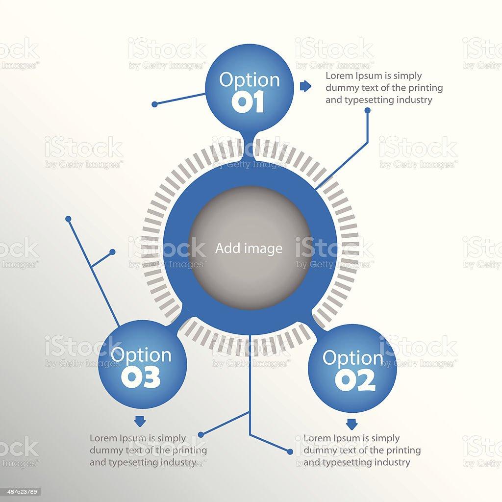 Inforgraphic elements vector art illustration