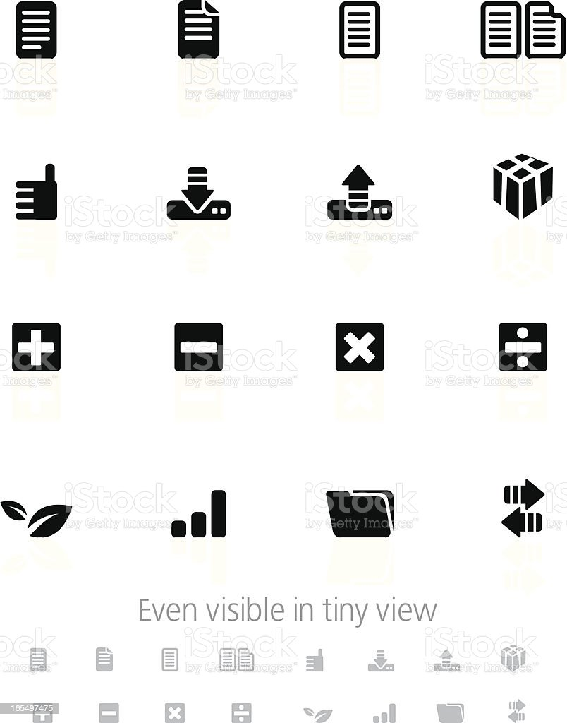 Information Icons royalty-free stock vector art