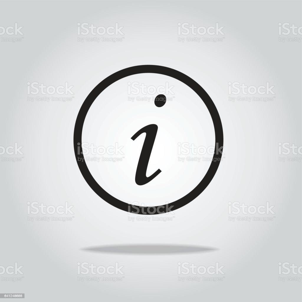 information icon,vector illustration vector art illustration