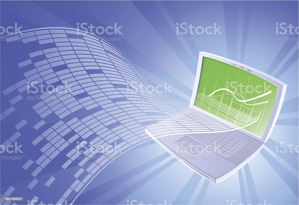 Information Technology royalty-free stock vector art