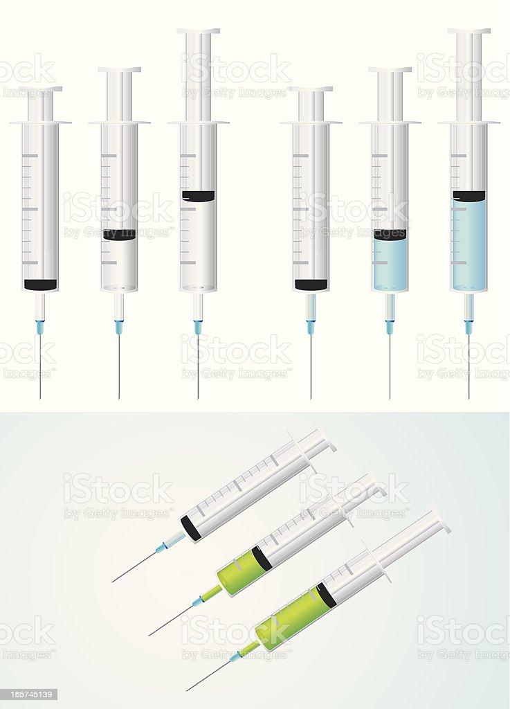 injection vector art illustration