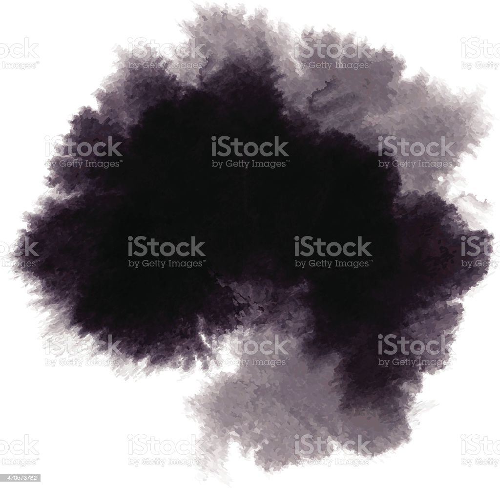 ink stain vector art illustration