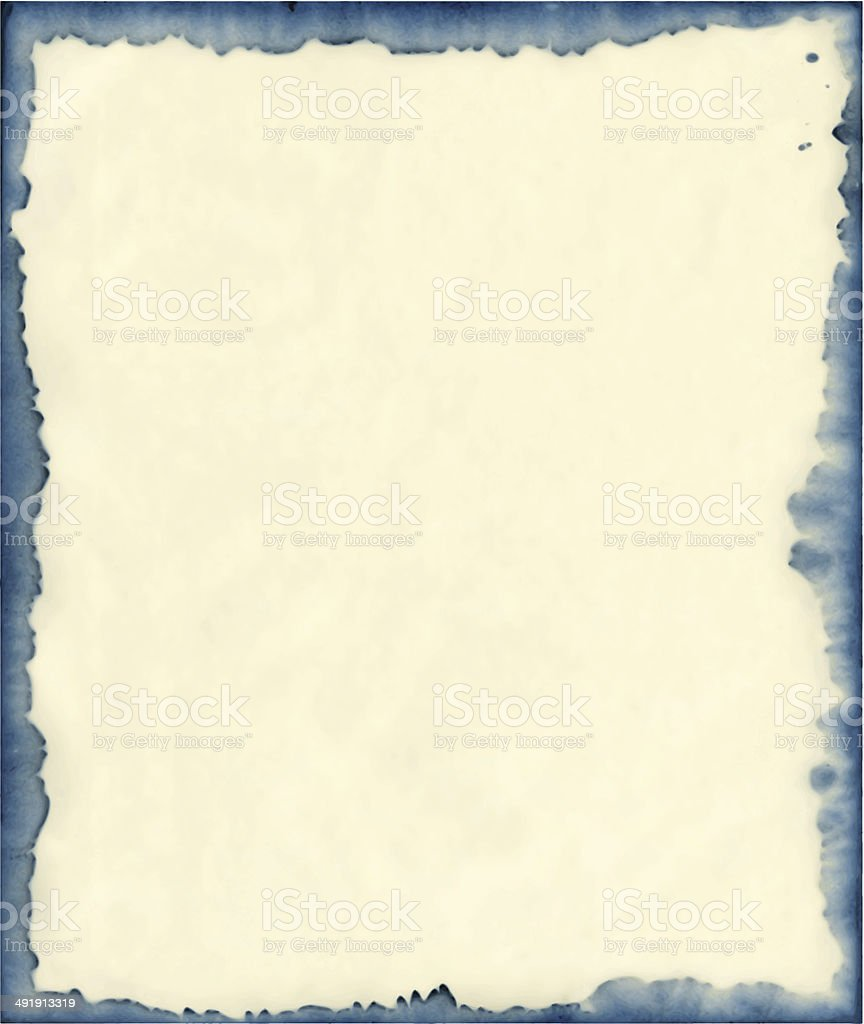 ink stained paper background vector art illustration