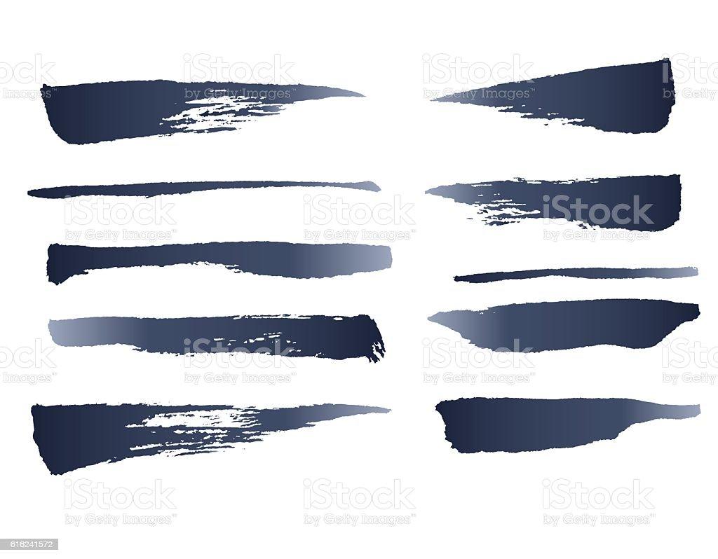 Ink Vector Brushes vector art illustration