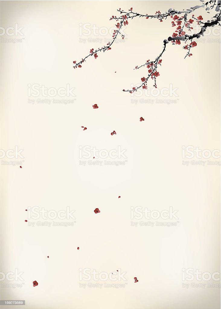 ink winter sweet royalty-free stock vector art
