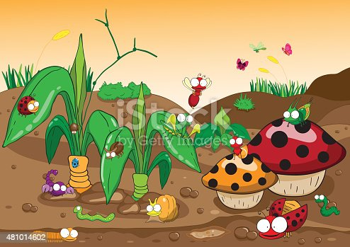 481014602 istock for Suelo organico dibujo animado
