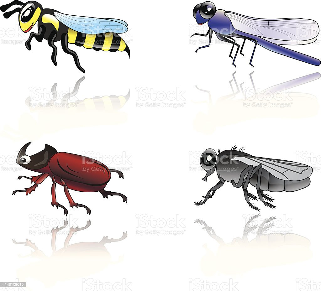 Insects royalty-free stock vector art